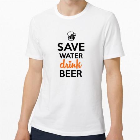 Tricou personalizat-save water-