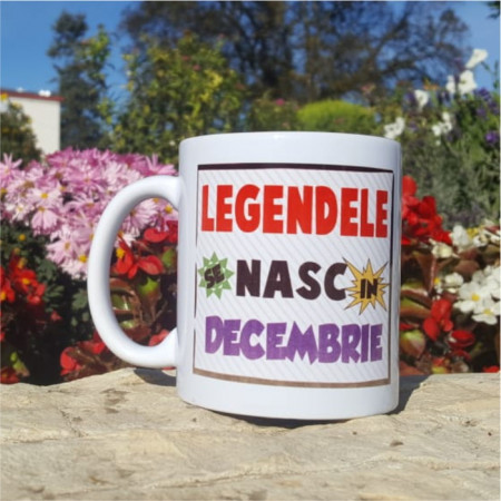 "Cana ""Legendele se nasc in Decembrie"""
