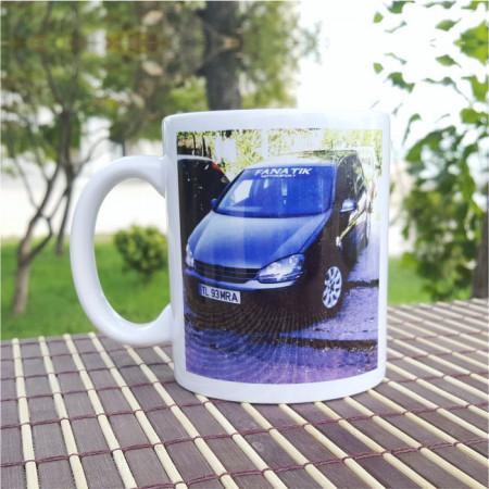 Cana personalizata pentru iubitorii de masini