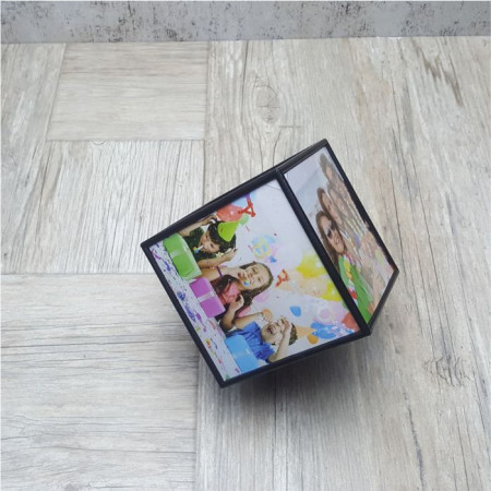 Cub rotativ cu 6 fotografii