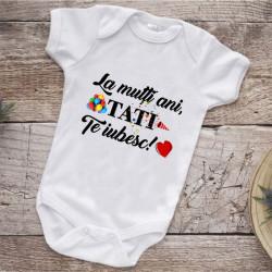 Body personalizat -La mulți ani tati-