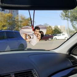 Inimioara, Talpita sau Dreptunghi de agatat la oglinda masinii