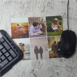 Mouse pad personalizat cu 6 poze