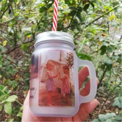 Cana transparenta pentru limonada/suc
