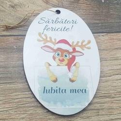 Ornament pom -IUBITA MAMA-