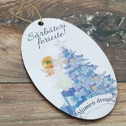 Ornament pom -MAMICA DRAGA-