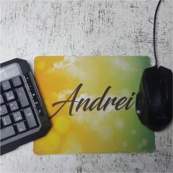Mouse pad personalizat cu nume