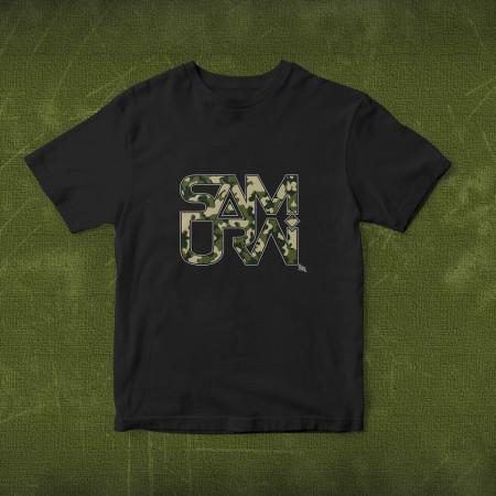 "Tricou ""Logo Samurai Camuflaj"""
