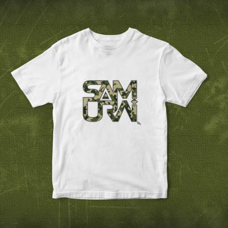LOGO SAMURAI CAMUFLAJ [tricou] *Lichidări de stoc*