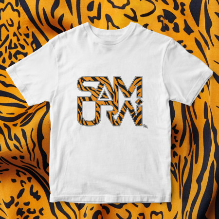 "Tricou ""Logo Samurai Animal print"""