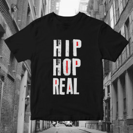 "Tricou ""HIP HOP REAL"""