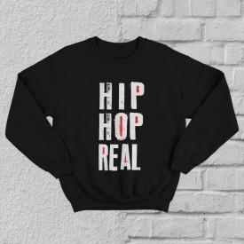 """Bluza """"Hip Hop real"""" + CD gratis la alegere"""