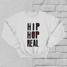 "Bluza ""Hip Hop real"""