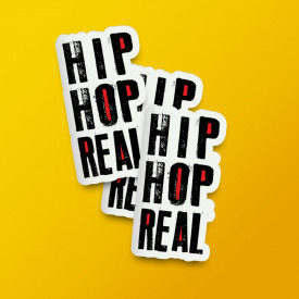 "Pack stickere ""Hip Hop Real"""