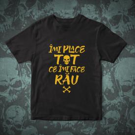 """Tricou """"IMI PLACE TOT CE-MI FACE RAU"""" + ALBUM """"SOARE"""" SI POSTER GRATUIT"""