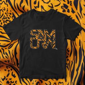 "Tricou ""Logo Samurai Animal print"" + ALBUM ""SOARE"" SI POSTER GRATUIT"