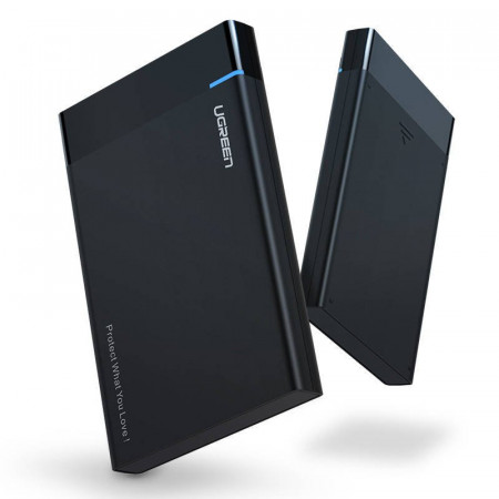"Carcasa UGREEN US221 SATA HDD 2,5""+ cablu USB 3.0 + USB-C la micro USB 3.0"