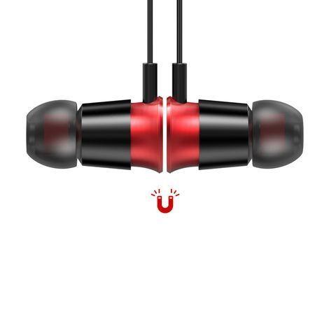 Casti telefon cu prindere magnetica , in ear cu bluetooth 4.1 , Baseus Encok Sports S07 , negru