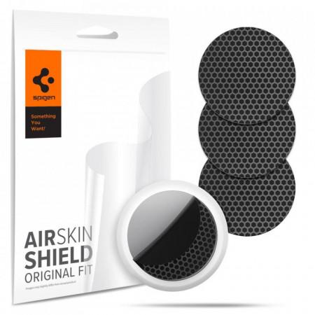 Folie Protectie HYDROGEL FOIL SPIGEN AIRSKIN 4-SET APPLE AIRTAG CARBON BLACK (AFL03161)