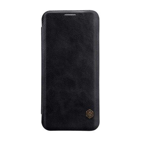 Husa Flip Cover pentru Samsung Galaxy J7 2017 Nillkin Qin Neagra