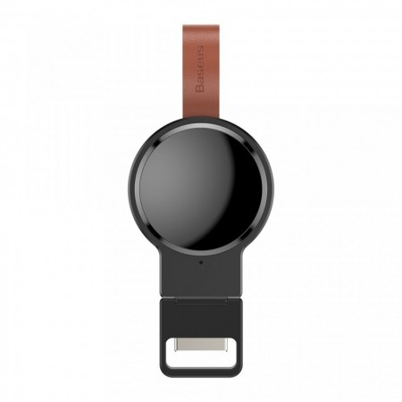 Incarcator wireless mini , Baseus Dotter Qi 2.5W , negru