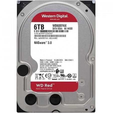 Internal HDD WD Red 3.5'' 6TB SATA3 256MB IntelliPower, 24x7, NASware™