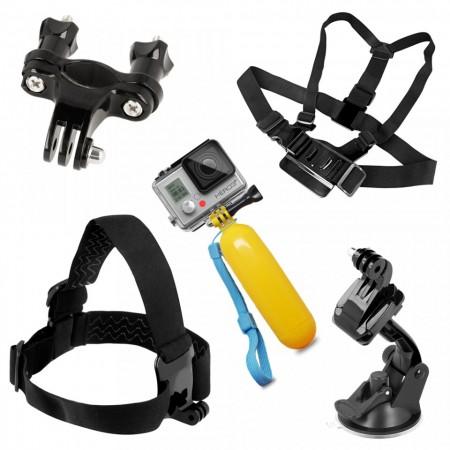 Set 9 accesorii, Gema, pentru GoPro