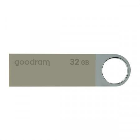 Stick USB Goodram pendrive 32 GB USB 2.0 20 MB/s (rd) - 5 MB/s (wr) flash drive silver (UUN2-0640S0R11)