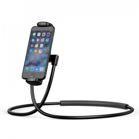 Suport telefon/tableta cu marimea intre 4inch-10inch , Baseus , negru