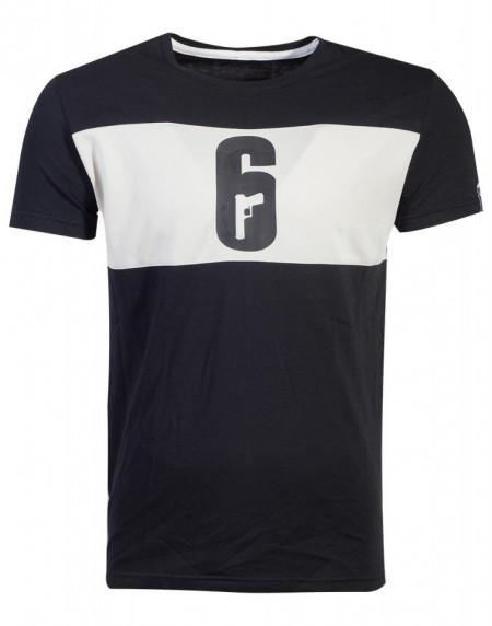 Tricou 6-SIEGE cu logo inscriptionat - marimea M