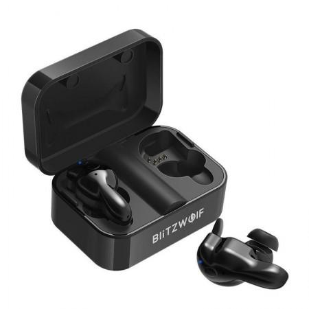 Casti Blitzwolf BW-FYE1 TWS Wireless Bluetooth 5.0 (negru)
