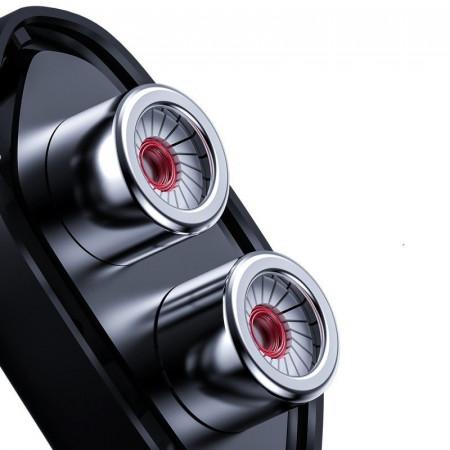Casti gaming Baseus GAMO Immersive Virtual 3D Type-C , negru + rosu