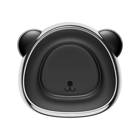 Suport auto , Baseus Bear magnetic cu prindere la sistemul de ventilatie , silver