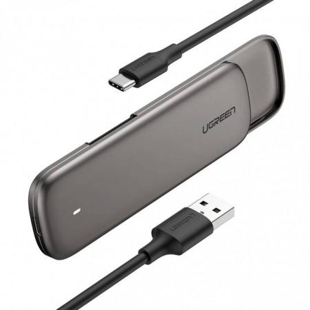 Carcasa UGREEN SSD M.2 Drive Enclosure M-key, NVMe, 6Gbps
