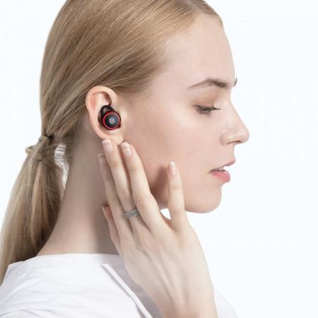 Casti Nillkin TW004 GO TWS True Wireless Earphones Bluetooth 5.0 IPX5 water-resistance red (TW004 GO red)