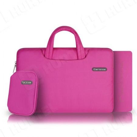 Geanta laptop 13.3 inch , Cartinoe Ambilight roz