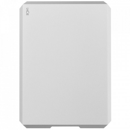 "HDD Extern LaCie Mobile Drive 2TB, 2.5"", USB 3.1 Type-C, Moon Silver"