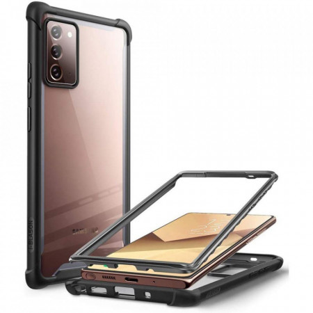 Husa Supcase Iblsn Ares Galaxy Note 20 Black