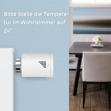 Set de demaraj pentru supape cu termostat inteligent , Meross MTS100H