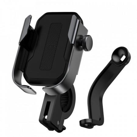 Suport Baseus de telefon pentru bicicleta/motor - negru