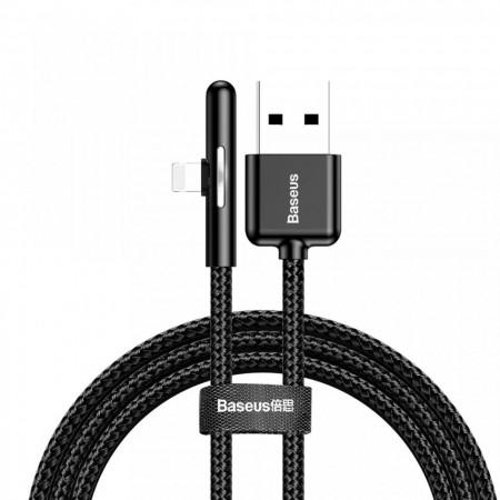 Cablu de date si incarcare Lightning , Baseus Mobile Game , 1.5A, 2M , negru