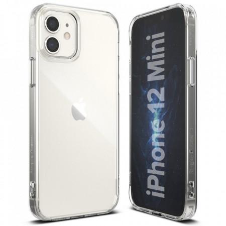 Husa telefon Ringke Fusion PC Case with TPU Bumper pentru iPhone 12 mini transparent (FSAP0052)