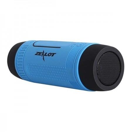 Boxa portabila cu lanterna , Zealot S1 , albastru