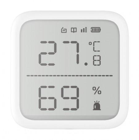 Detector wireless de temperatura, Hikvision AxPRO, DS-PDTPH-E-WE