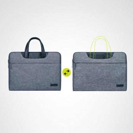 Geantă laptop Cartinoe Lamando 13.3 '' gri