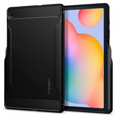 Husa tableta Spigen Rugged Armor pentru Samsung Galaxy Tab S6 Lite 10.4 P610/P615 Matte Black