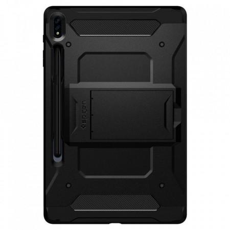Husa tableta Spigen Tough Armor Pro pentru Samsung Galaxy Tab S7+ Plus 12.4 T970/T976 Black