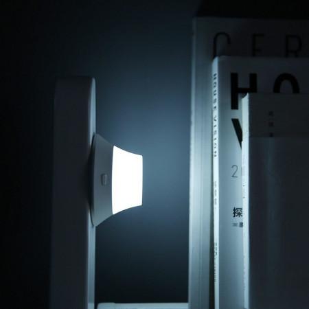Incarcator wireless Xiaomi Yeelight Quick Charge QI, 15W, cu lampa de noapte magnetica detasabila