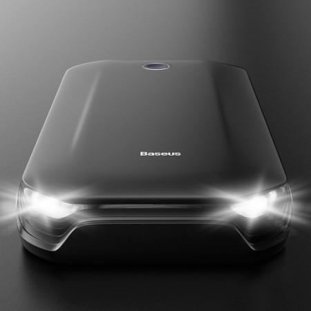 Robot de pornire baterii, Baseus 8000mAh 800A 12V autoturism, camioneta, barca, rulota, TIR, 12V (CRJS01-01)
