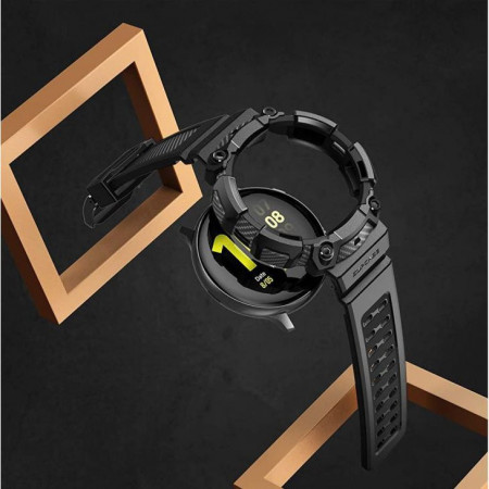 Bratara Unicorn Beetle Pro Galaxy Watch Active 2 (44mm) negru